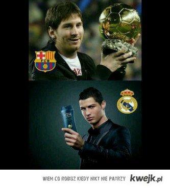 Cr vs Messi