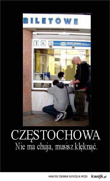 Częstochowa to dobre miasto
