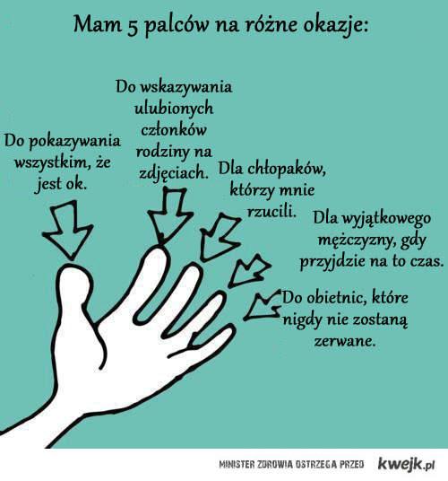 5 palców