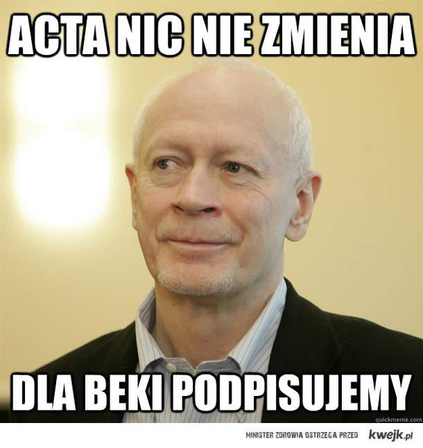 ACTA nic nie zmienia