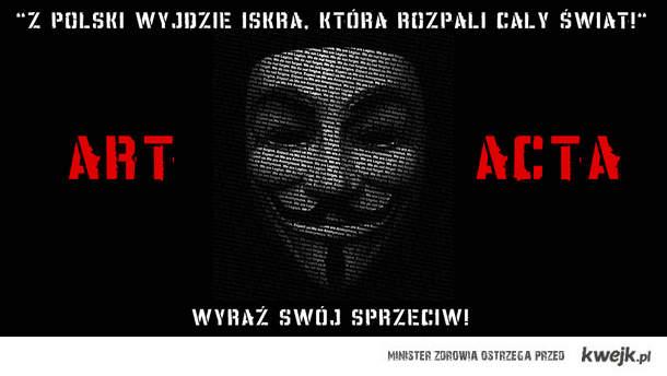 Chcą jednak podpisać ustawę ACTA!