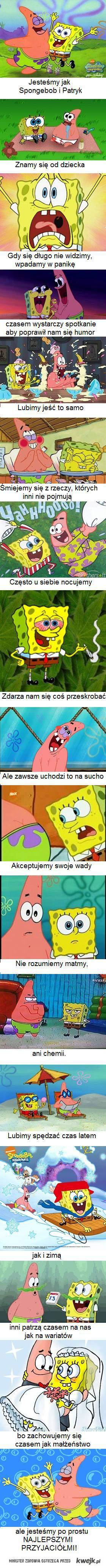 Spongebob i Patryk