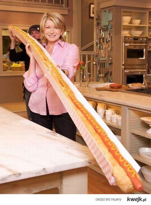 najdłuższy hot-dog