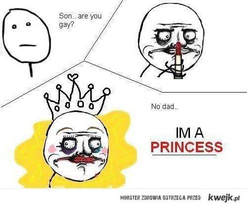 nie jestem gejem jestem księżniczką