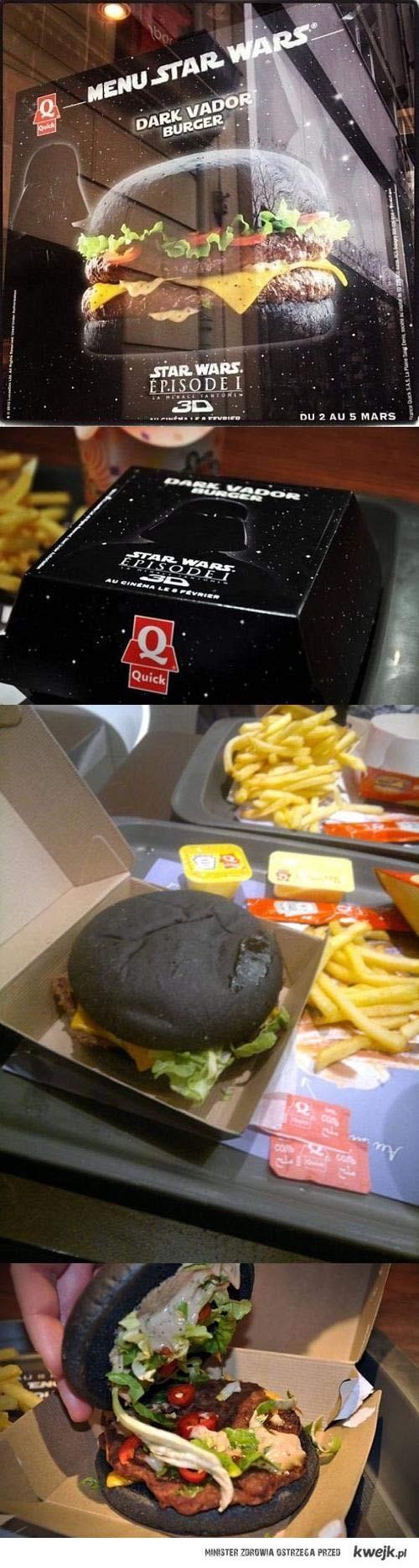Dark Vader Burger