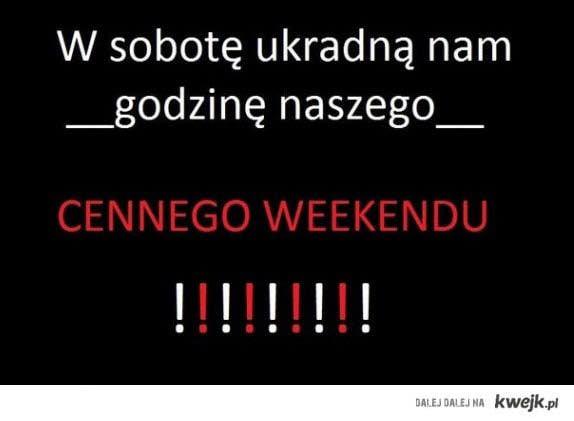 okradanie weekendu