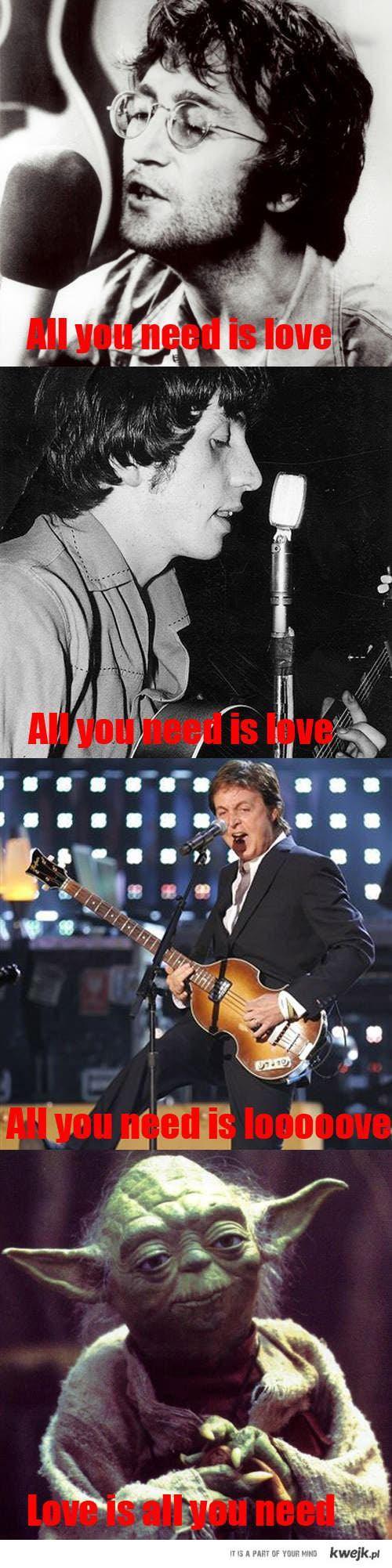 Yoda śpiewa