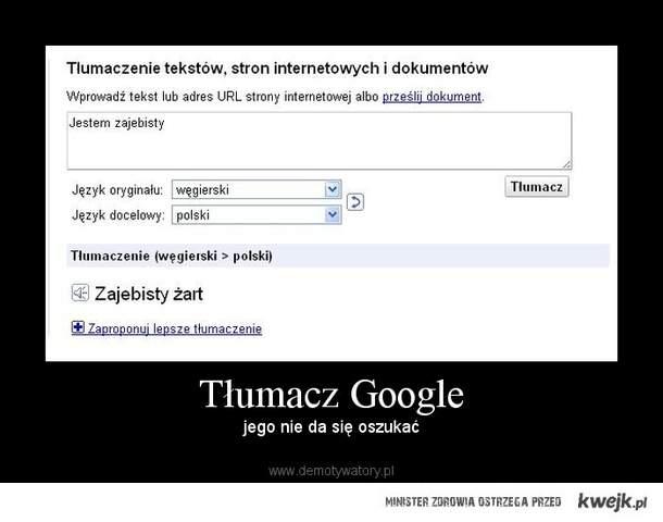 google tłumacz - KWEJK.pl - najlepszy zbiór obrazków z