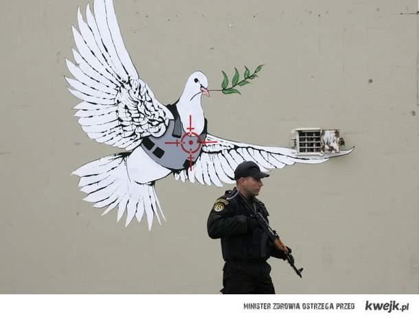 Banksy w Izraelu