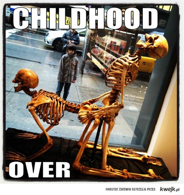 Zrujnowane dzieciństwo