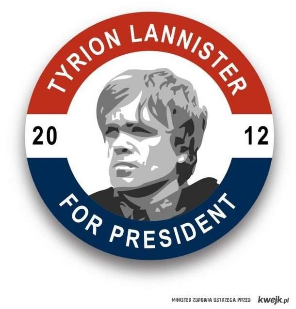 Lanister na prezydeta