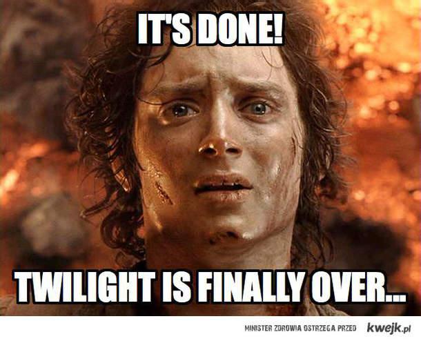 Nareszcie koniec zmierzchu!