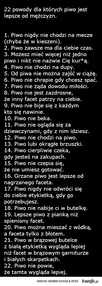 22 powody...