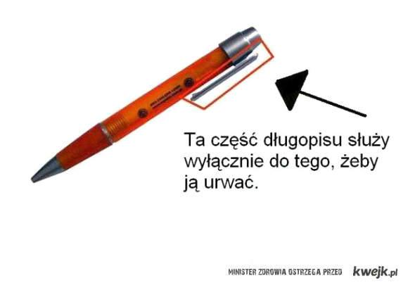 Ta część długopisu