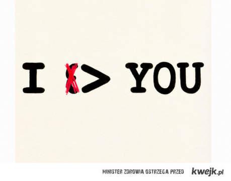 i > you