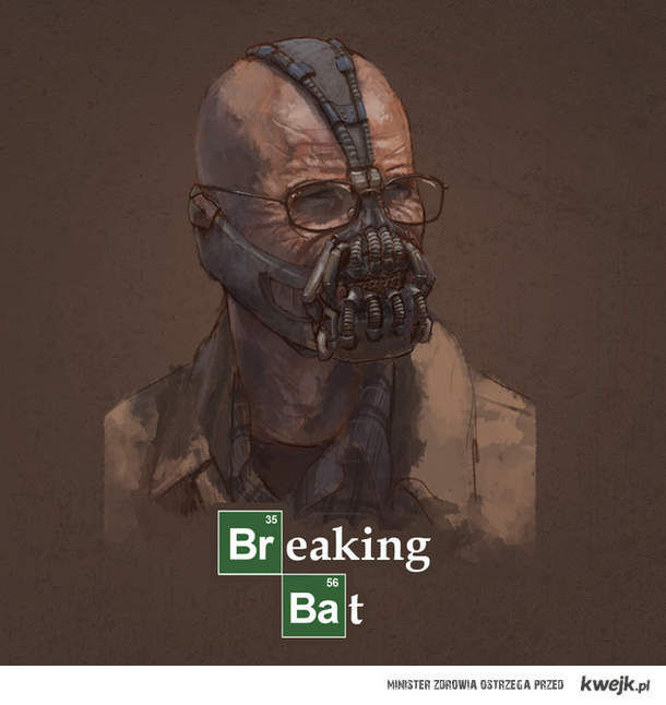 Breaking bat