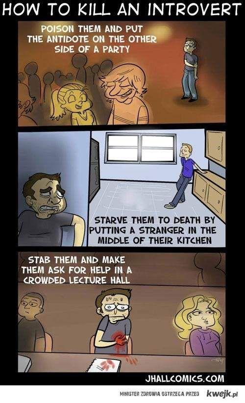 Jak zabić introwertyka
