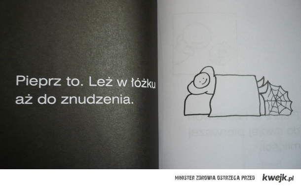 Leż w łóżku