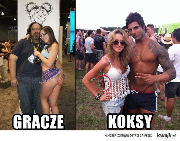 GRACZE VS KOKSY