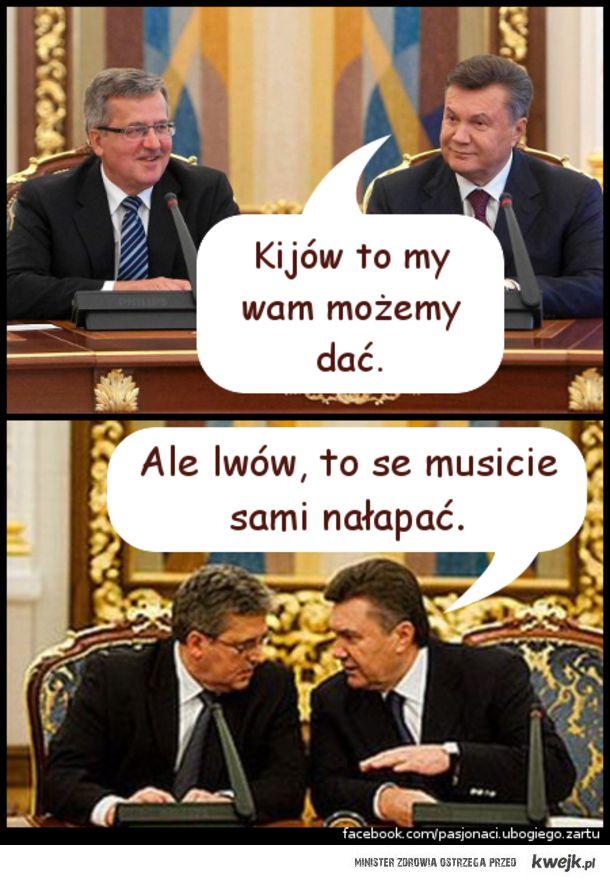 Kijów i Lwów