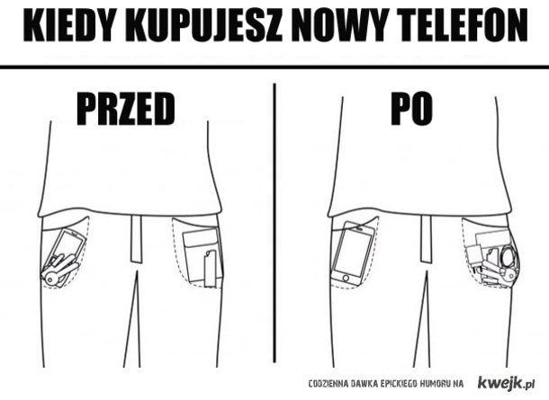 Kiedy kupujesz nowy telefon