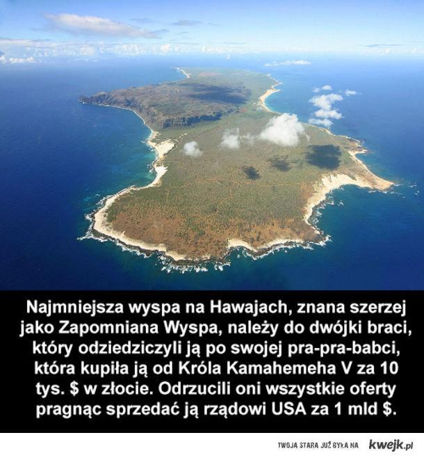 Najmniejsza wyspa na Hawajach
