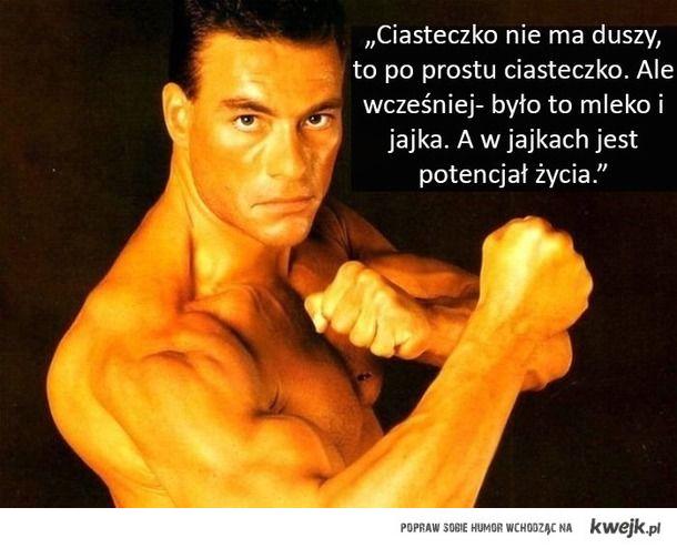 10 cytatów Jean-Claude Van Damme'a, które są totalnie na serio. Weź je sobie do serca.