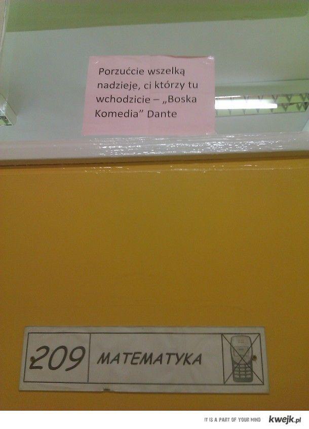 Tymczasem w mojej szkole...