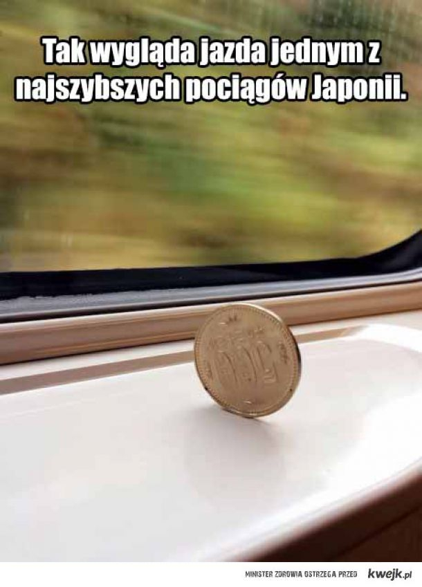 Pociągi w Japonii