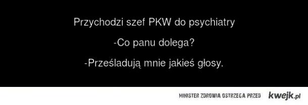 Szef PKW u psychiatry