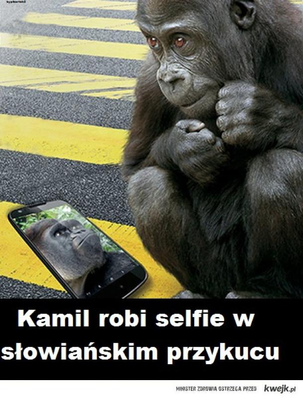 Kamil selfie