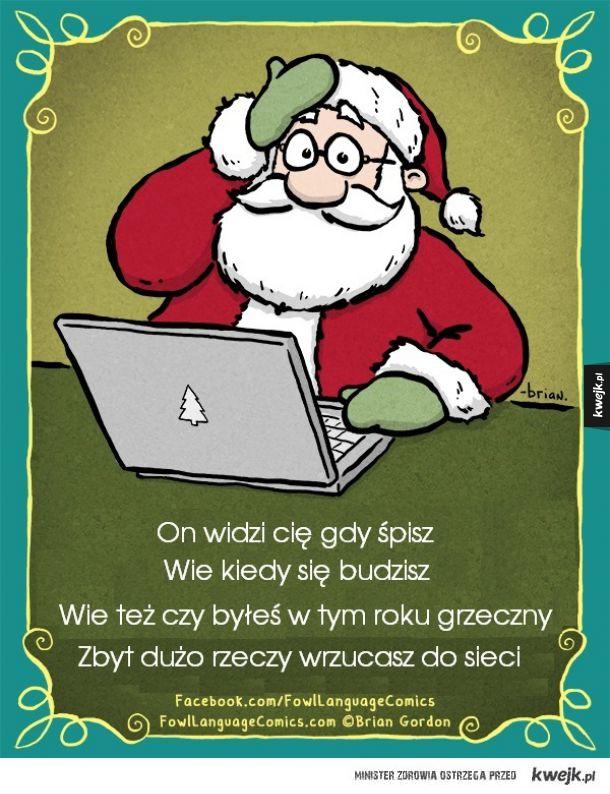 Święty Mikołaj: On widzi Cię gdy...