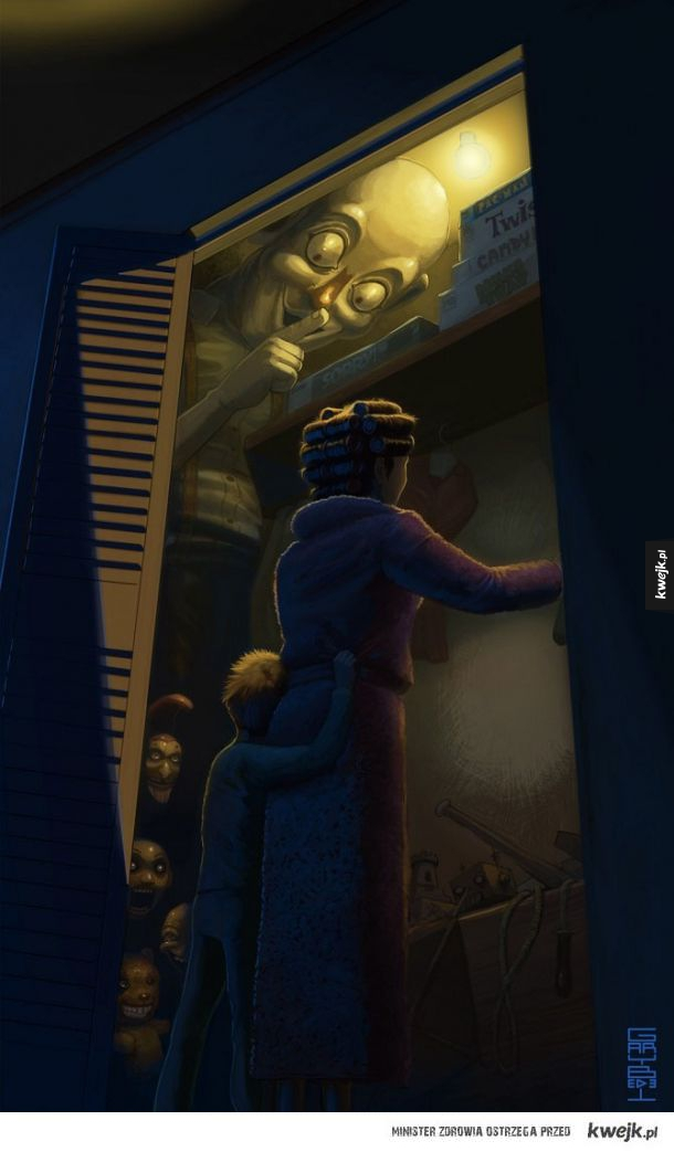 Strachy w szafie
