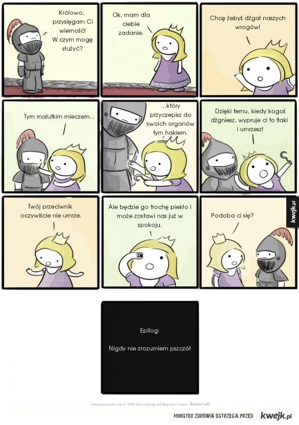 Absurdalne oczekiwania księżniczki
