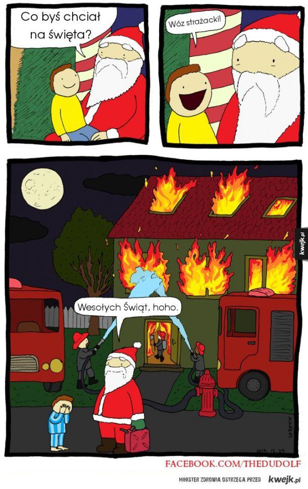 Mikołaj-socjopata spełni każde marzenie