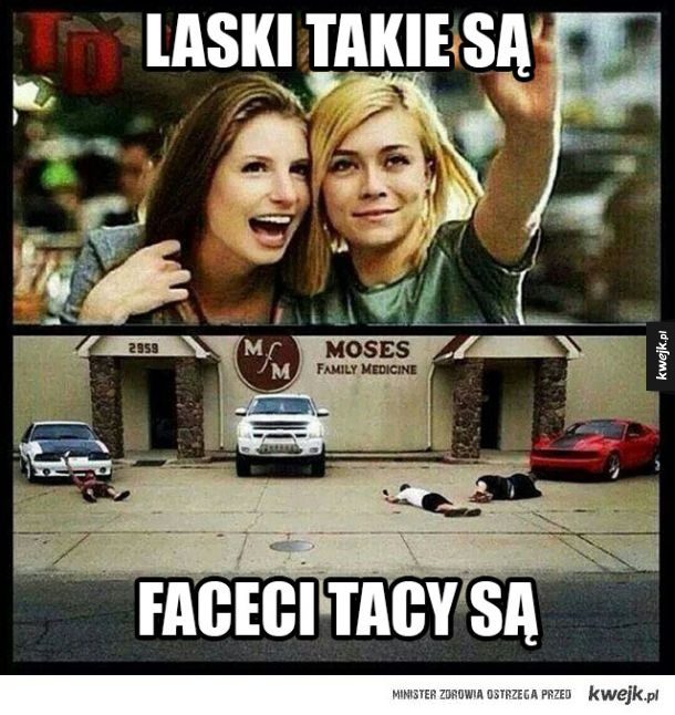 Laski vs. faceci