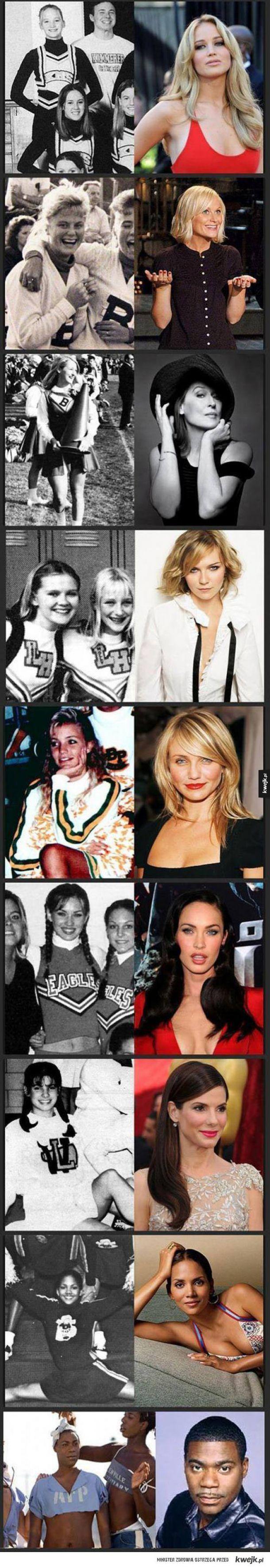 Gwiazd Hollywood w młodości