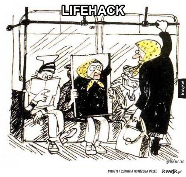 Co zrobić, żeby stare baby w autobusach się o Ciebie nie ocierały i się na Tobie nie kładły