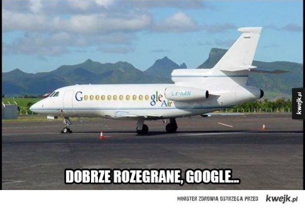 Samolot Google