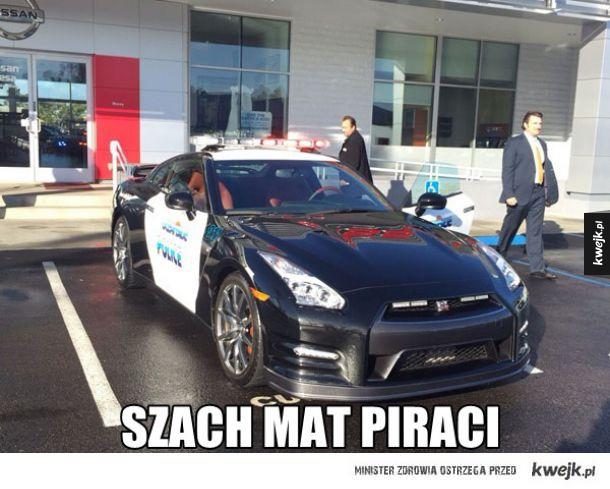 Najlepszy wóz policyjny ever