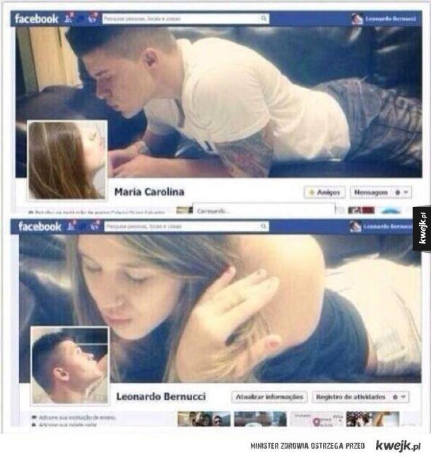 Miłość kwitnie na facebooku