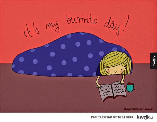 Burrito day