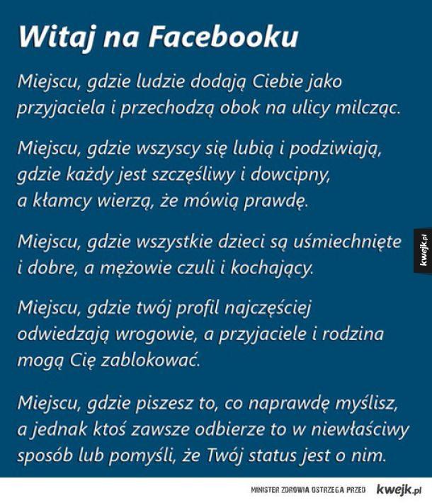 Facebook to świat pełen paradoksów