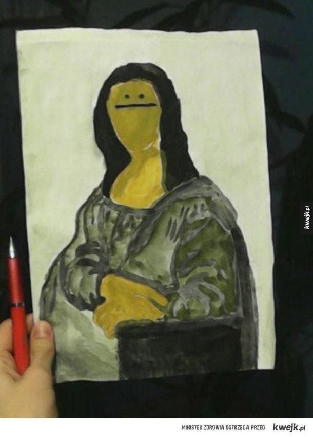 Tajemniczy uśmiech Mona Lisy