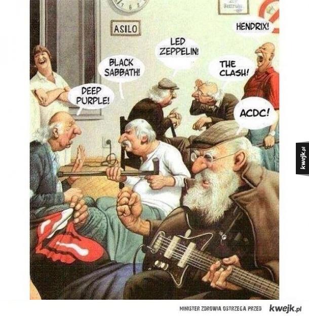 Szczęśliwa starość