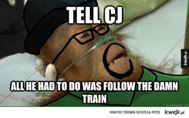 Damn train