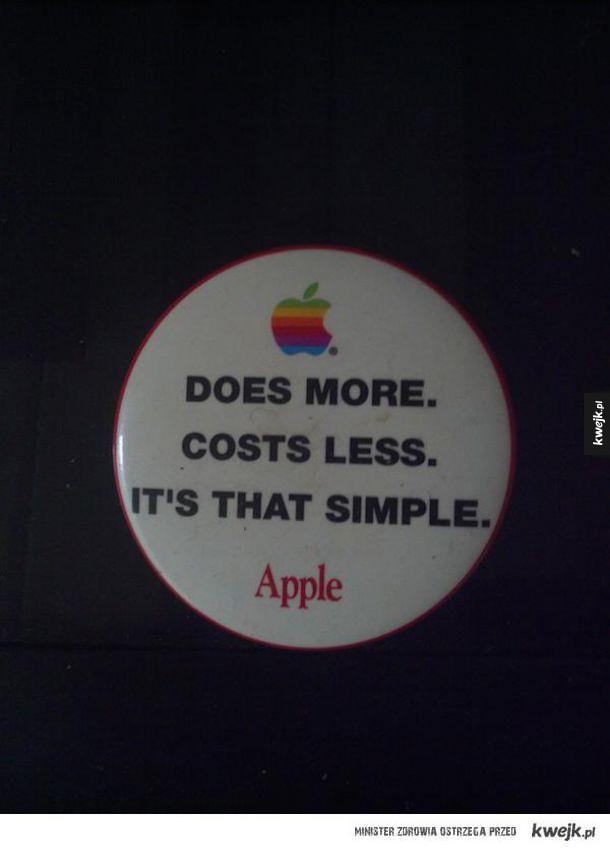 Dawna reklama Apple. Już nieaktualne jak coś