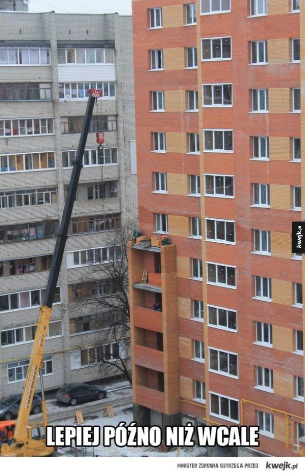 Balkony na zamówienie