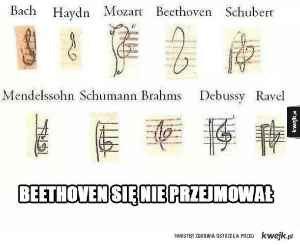 Beethoven się nie przejmował