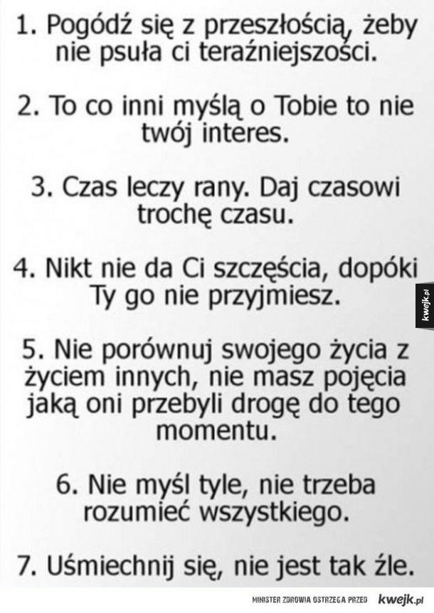 7 cennych porad